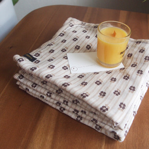 cotton towel - brown st